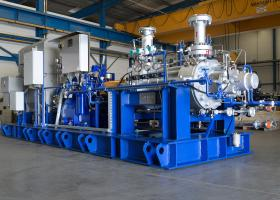 Jedno z čerpadiel ktoré budú pracovať v Elektrárni Maximo Gómez na Kube