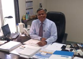 p. Nadeem Kazmi, konateľ spoločnosti VALIDUS, zástupca spoločnosti SARMAT LT pre Pakistan