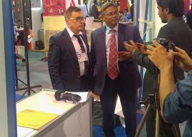 Konateľ spoločnosti SARMAT LT Ing.Ladislav Tánczos v rozhovore pre Pakistanskú televíziu